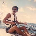 サイパン島在住時(34歳頃)